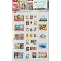 """Busch 6002 H0 reclameposters """"jaren '50"""""""