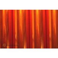 Strijkfolie Oracover 321-069-002 Air Outdoor (l x b) 2000 mm x 600 mm Oranje (transparant)