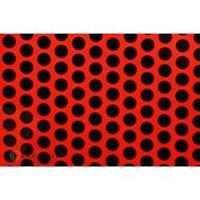 Oracover Easyplot Fun 1 92-021-071-002 (l x b) 2000 mm x 200 mm Rood-zwart (fluorescerend)