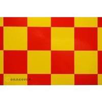 Strijkfolie Oracover 491-033-023-002 Fun (l x b) 2000 mm x 600 mm Geel-rood