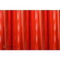 Strijkfolie Oracover 321-026-010 Air Outdoor (l x b) 10000 mm x 600 mm Rood (transparant-fluorescerend)
