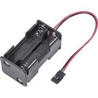 Modelcraft Batterijbox zonder schakelaar Stekkersysteem: Futaba