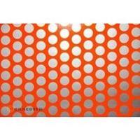 Oracover Easyplot Fun 1 92-064-091-010 (l x b) 10000 mm x 200 mm Rood-oranje-zilver (fluorescerend)