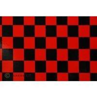 Strijkfolie Oracover 43-023-071-002 Fun (l x b) 2000 mm x 600 mm Rood/zwart