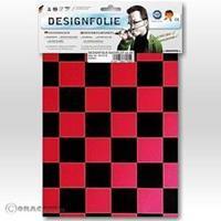 Oracover Easyplot Fun 3 87-027-071-B (l x b) 300 mm x 208 mm Parelmoer rood-zwart