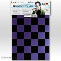 Oracover Easyplot Fun 3 87-056-071-B (l x b) 300 mm x 208 mm Parelmoer lila-zwart