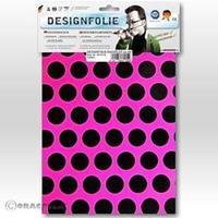 Oracover Easyplot Fun 1 90-014-071-B (l x b) 300 mm x 208 mm Neon-roze-zwart (fluorescerend)