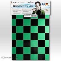 Oracover Easyplot Fun 3 87-047-071-B (l x b) 300 mm x 208 mm Parelmoer groen-zwart