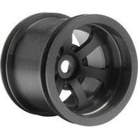 HPI RACING Scorch 6-spoke wheel black _2.2in/55_50__/2pcs_