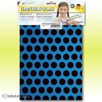 Oracover Orastick Fun 1 45-051-071-B Plakfolie (l x b) 300 mm x 208 mm Blauw-zwart (fluorescerend)