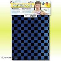 Oracover Orastick Fun 4 48-057-071-B Plakfolie (l x b) 300 mm x 208 mm Parelmoer blauw-zwart