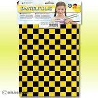Oracover Orastick Fun 4 48-036-071-B Plakfolie (l x b) 300 mm x 208 mm Parelmoer geel-zwart