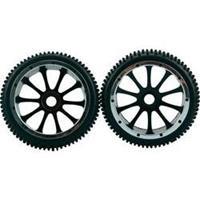 Amewi 1:5 Buggy Complete wielen Multipin 10-spaaks Zwart 1 paar