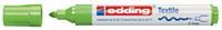 Edding Viltstift  4500 textiel rond lichtgroen 2-3mm