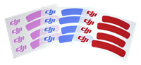 DJI Sticker set voor Phantom 1 / 2 / 3