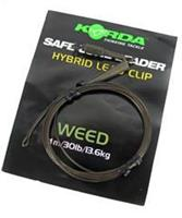 Korda Camo Leaders + Hybrid Leadclip - Weedy Green - 40lb