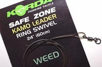 Korda Camo Leaders + Ringwartel - Weedy Green