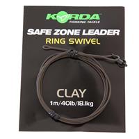 Korda Camo Leaders + Ringwartel - Clay Brown