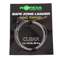 Korda Camo Leaders + Ringwartel - Transparant