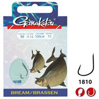 Gamakatsu 1810B Bream Feeder Onderlijn - 75cm - Haakmaat 8 - 10 stuks