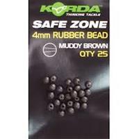 Korda Rubberen Kraaltje - 4mm - Muddy Brown