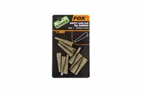 Fox Edges Slik Lead Clip Tail Rubbers - Khaki - Maat 10