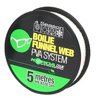 Korda Boilie Funnel Web HEXMESH - Refill - 5m