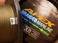 Korda Apex braided Mainline - 0.36mm - 50lb - 1200m