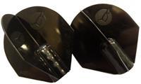 Korda Spare Marker Flights - Black