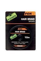 Fox Edges Hair Braid X - 10m - Brown