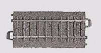 Märklin H0 Marklin C-rails (met ballastbed) 24077 Rechte rails 77.5 mm
