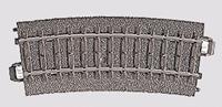 H0 Marklin C-rails (met ballastbed) 24115 Gebogen rails