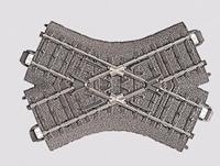 Märklin H0 Marklin C-rails (met ballastbed) 24649 Kruising 103.3 mm