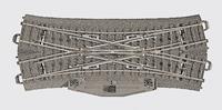 Märklin H0 Marklin C-rails (met ballastbed) 24624 Kruisingswissel, Dubbel 188.3 mm