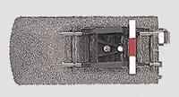 Märklin H0 Marklin C-rails (met ballastbed) 24977 Eindstuk met stootblok 77.5 mm