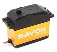Savöx 80101031 Dubbel gelagerd Transmissie: Metaal JR
