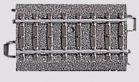 Märklin H0 Marklin C-rails (met ballastbed) 24064 Rechte rails 64.3 mm