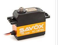 Savöx 80101030 Dubbel gelagerd Transmissie: Metaal JR