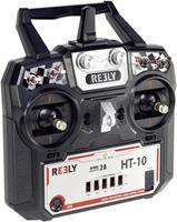 Reely HT-10 RC handzender 2,4 GHz Aantal kanalen: 10 Incl. ontvanger