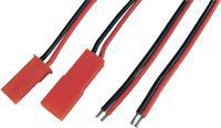 Accu Kabel [ BEC stekker, BEC bus - 2x Open einde] 0.14 mm² Modelcraft