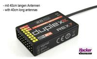 Jeti 80001246 7-kanaals ontvanger 2,4 GHz