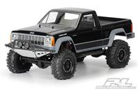 Proline Jeep Comanche Full Bed transparante body voor 1/10 Crawlers (313mm w/b)
