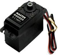 Master Standaard servo DS6020 MG Digitale servo Materiaal (aandrijving): Titanium Stekkersysteem: Uni (Graupner/JR/Futaba)