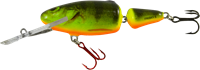 Salmo Frisky Deep Runner - 7 cm - real hot perch