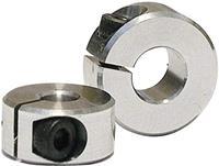 Modelcraft Klemring Geschikt voor as: 2 mm Buitendiameter: 10 mm Dikte: 6 mm M2.5 1 paar