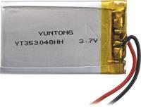 LiPo microaccu Sol Expert L350 3.7 V (max) (l x b x h) 48 x 35 x 3 mm