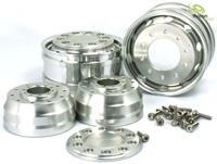 Thicon Models 1:14 Truck Velgen Aluminium 2 stuks