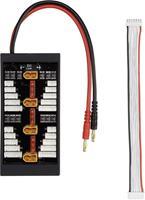 VOLTCRAFT LiPo Balancer Board Uitvoering lader: XT60-steeksysteem Uitvoering accupack: bananenstekker Geschikt voor aantal cellen: 2 - 6