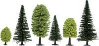 Set bomen Gemengd bos Hoogte (min.): 50 mm Hoogte (max.): 140 mm NOCH 26911 10 stuks
