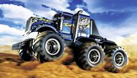 Tamiya Konghead 6x6 1:18 Brushed RC auto Elektro Monstertruck 4WD Bouwpakket